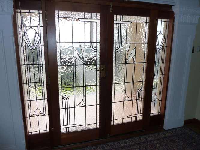 Art Deco Leadlight Windows Adelaide Glass Painters