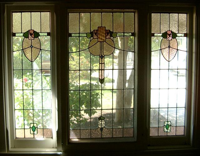 federation leadlight windows