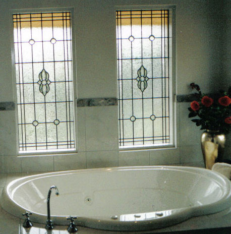 Bathroom Windows Adelaide modern & contemporary leadlight windows - adelaide glass painters