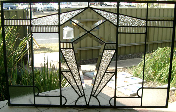 Art Deco Leadlight Window Designs